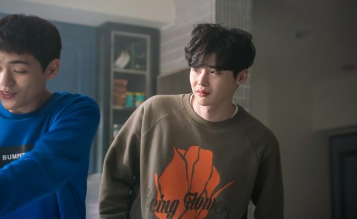 Khuôn mặt đầy quyến rũ của Lee Jong Suk