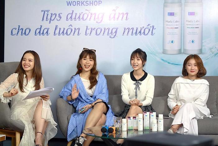 Khách mời beauty blogger Emmi Hoàng, beauty blogger An Phương, ca sĩ Jang Mi, diễn viên học đường Vi Xù.