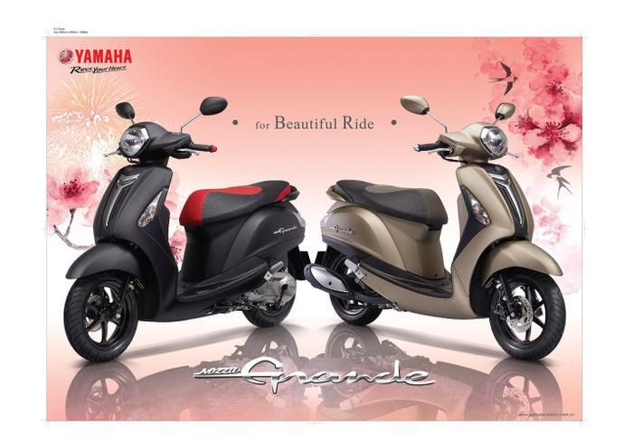 Yamaha tặng ngay dây chuyền vàng PNJ trị giá 2 triệu đồng cho quý cô rước xe Grande về nhà ảnh 2