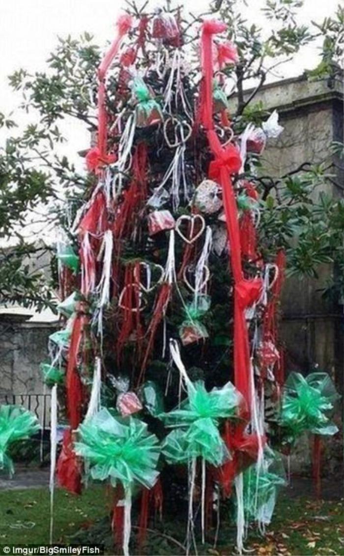 Không thể nhịn cười với những cây thông Giáng sinh 'lầy lội' nhất quả đất