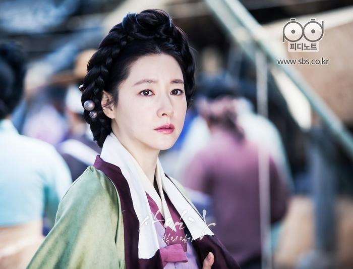 Và Lee Young Ae (phim Saimdang).