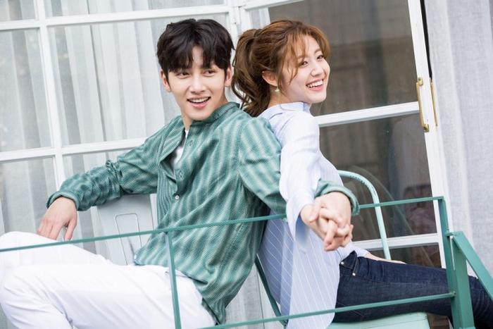 Ji Chang Wook và Nam Ji Hyun (phim Suspicious Partner).