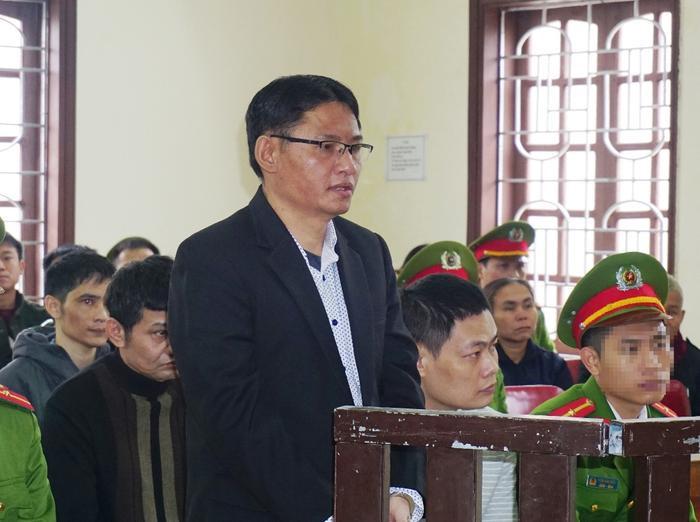 Bị cáo Tuấn tại phiên tòa phúc thẩm.