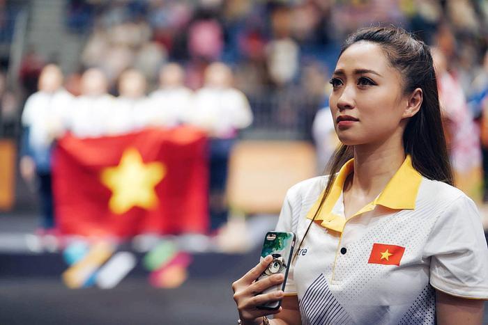 Thu Hà là HLV đội tuyển thể dục nghệ thuật quốc gia.
