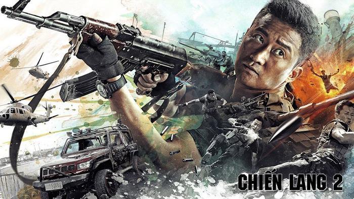 """""""Chiến lang 2"""" bộ phim duy nhất của Trung Quốc nói riêng và Châu Á nói chung góp mặt trong danh sách 10 phim có doanh thu cao nhất 2017."""