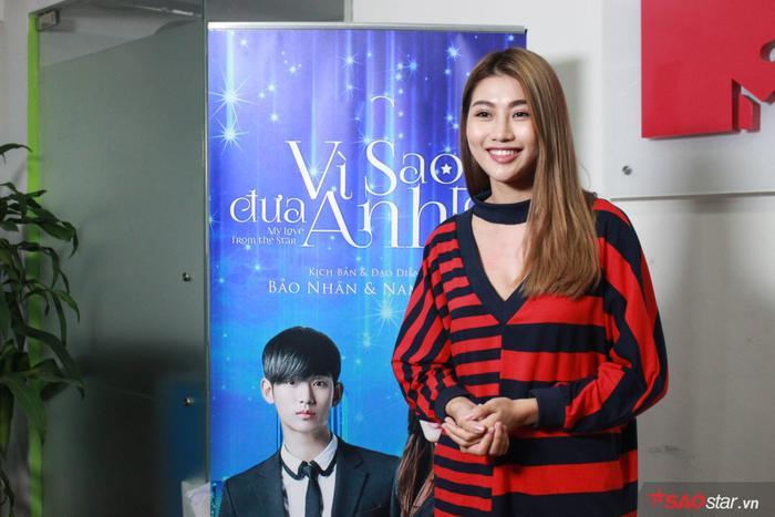 Ngoại hình chuẩn cùng khả năng nhập vai khá duyên dáng, Quỳnh Châu là một trong những ứng cử viên tiềm năng cho vai Mợ chảnh (Jeon Ji Hyun).
