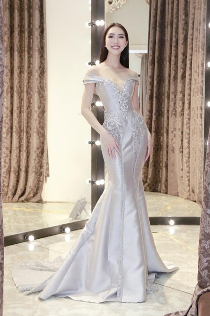 Tường Linh khiến fan lo lắng khi liên tục chọn váy cũ của Hà Hồ để lên đường thi thố nhan sắc