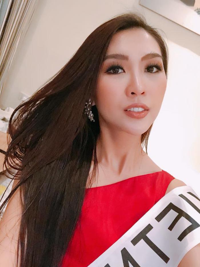 Tường Linh 'đọ sắc' một chín một mười bên dàn Hoa hậu nước bạn tại Miss Intercontinental 2017