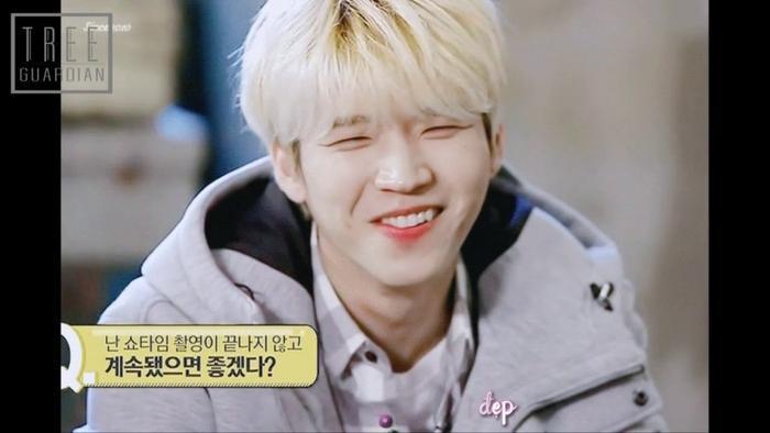 Mắt như hai đường chỉ là có thật, chủ sở hữu chính là chàng trai đáng yêu, ấm áp Woo Hyun.