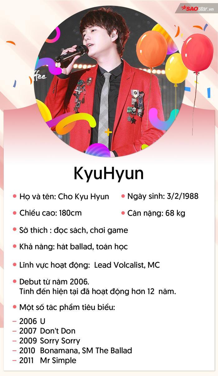 Kyu Hyun  chàng hoàng tử ballad có trái tim ấm áp nhưng kiên cường nhất showbiz Hàn ảnh 0
