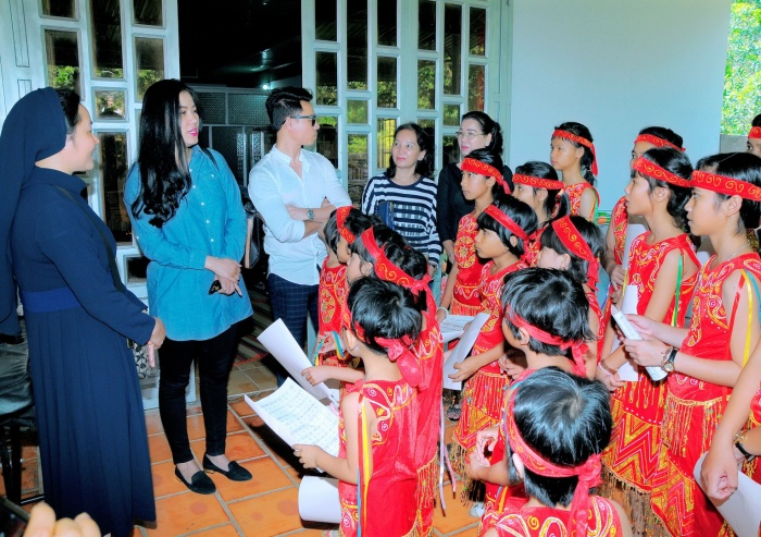 Nhạc sĩ Vũ Thành An khánh thành mái ấm tình thương cho trẻ em Bình Phước