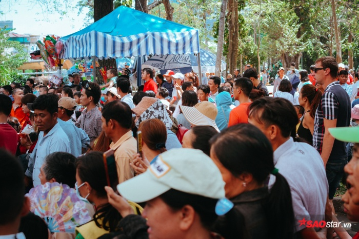 Năm nay, Thảo Cầm Viên Sài Gòn đón hơn nghìn lượt khách đến tham quan mỗi ngày.