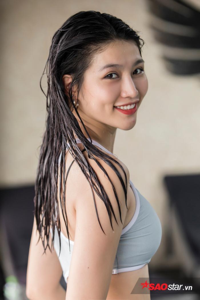 Chế Nguyễn Quỳnh Châu: 'Bơi lội giúp tôi cân bằng cuộc sống và sống lạc quan hơn' ảnh 2
