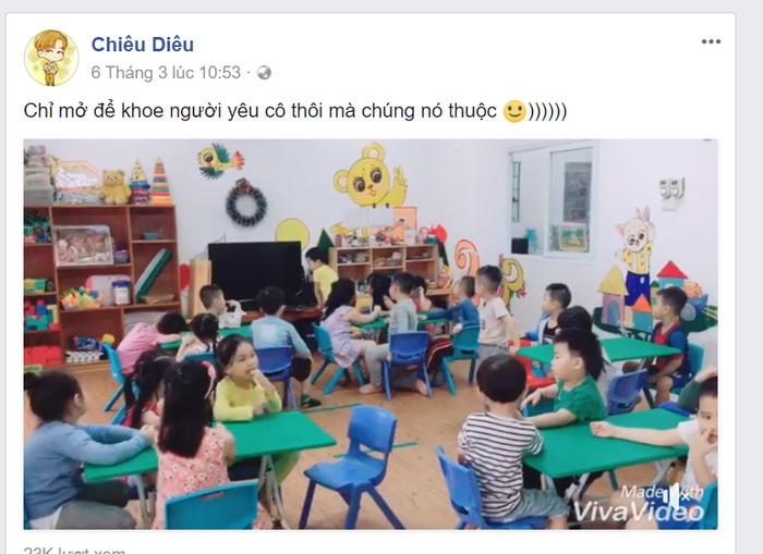 Chắc cô giáo trẻ này cũng không ngờ rằng một clip nho nhỏ của mình có thể đến tận mắt idol. Fangirl thành công đây rồi!