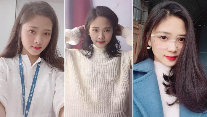 Vẻ xinh xắn như Hàn Quốc của Bùi Diệu Linh (TT44B) đã nhận về hơn 1 nghìn lượt thích.