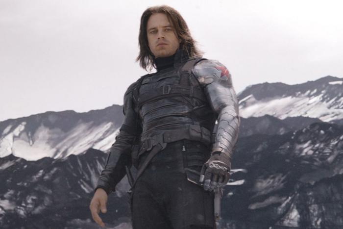 Sebastian Stan trong vai Chiến binh mùa đông.