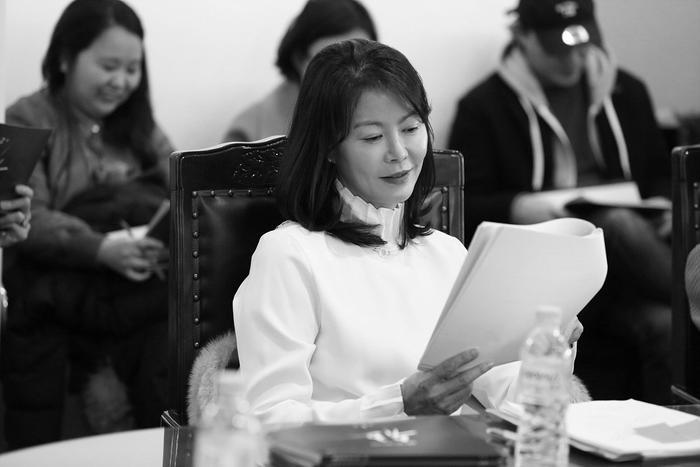 """Nữ diễn viên """"gạo cội"""" Jin Hee Kyung."""