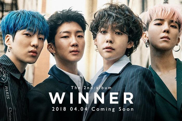 """Winner sẽ mở màn """"đường đua"""" Kpop trong tháng 4 với việc phát hành album vào ngày 4/4."""