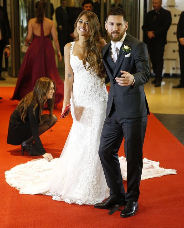 Hình ảnh trong lễ cưới của cặp đôi này diễn ra vào tháng 6/2017.
