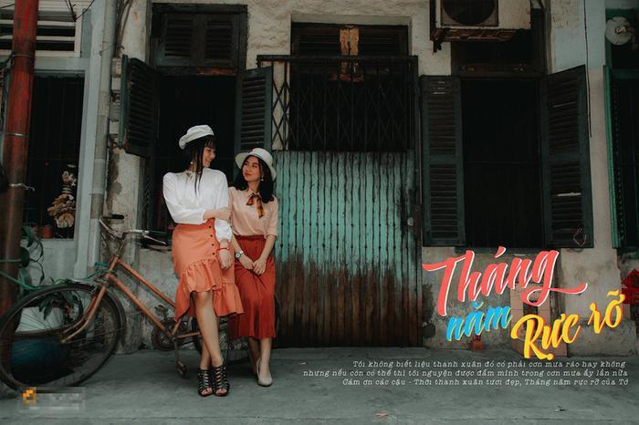 Ý tưởng sáng tạo cùng khả năng diễn xuất hồn nhiên, tươi trẻ của các cô cậu học trò lớp 12 đã tái hiện được phần nào khung cảnh của Sài Gòn.