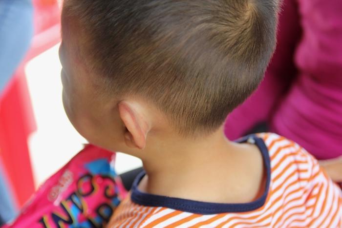 Vết thương của cháu nặng nhất ở đầu và tai