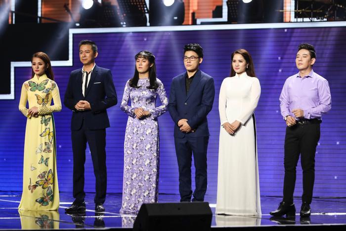 6 nhân tố xuất sắc nhất team HLV Ngọc Sơn: Hà Thu, Quang Long, Quỳnh Trâm, Duy Cường, Nhã Thanh, Đoàn Việt Phương.