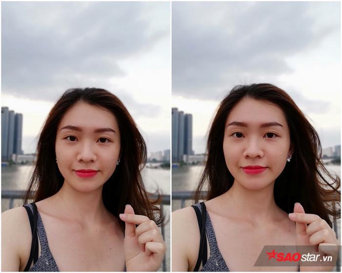 Tuy chỉ sở hữu một camera selfie duy nhất nhưng với độ phân giải 16MP cùng các thuật toán xử lý đã được cải tiến, chất lượng ảnh selfie xóa phông của Nova 3e cũng không hề thua kém so với Nova 2i sở hữu camera kép.