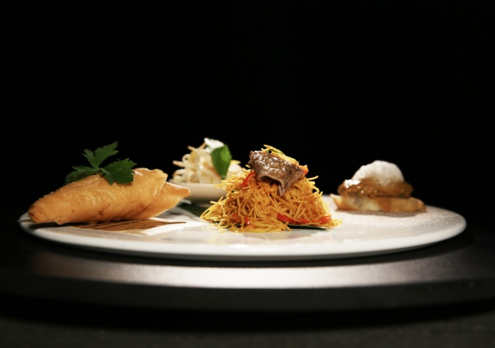 Món ăn thành phẩm của Tạ Đình Phong.