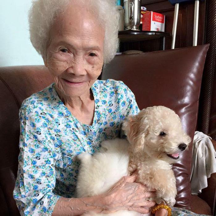 Ốc Tiêu và bà ngoại