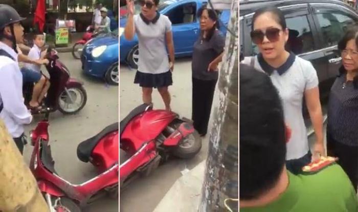 Nữ tài xế tuyên bố 'mạng người không quan trọng' sau va chạm là Chánh Văn phòng Đảng ủy