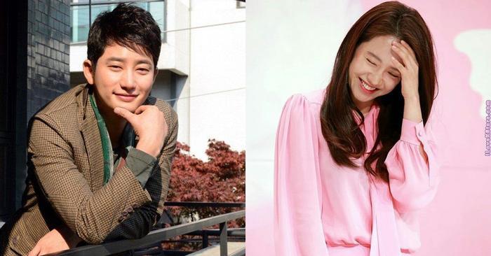 Park Shi Hoo và Song Ji Hyo.