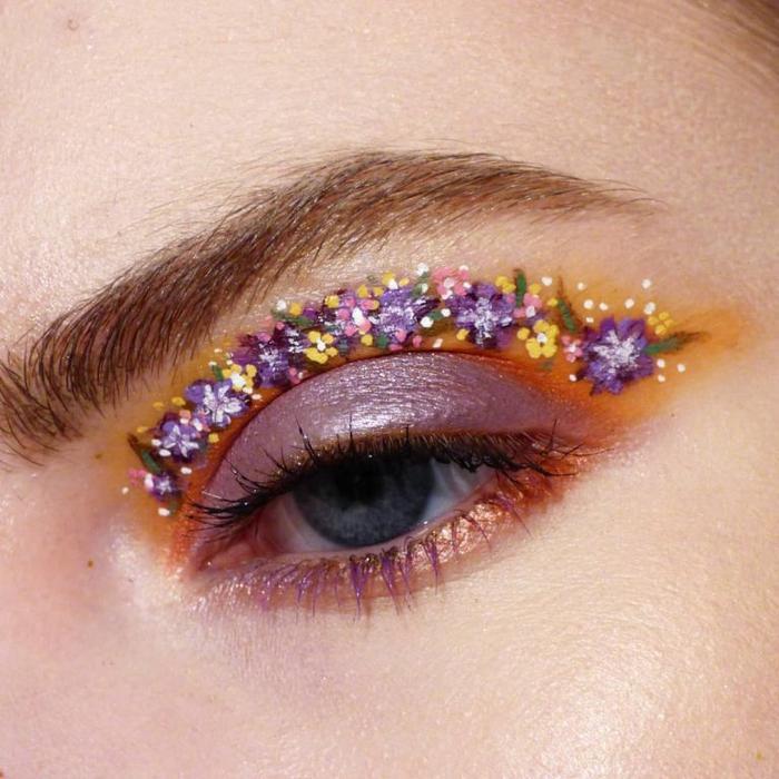 Kiểu trang điểm này khá tinh tế và giúp ích ở những mẫu có đường hốc mắt sâu hoặc muốn làm rõ đường mi mắt để đôi mắt thêm phần sắc sảo và quyến rũ. (Ảnh: Alexajmua/Instagram)