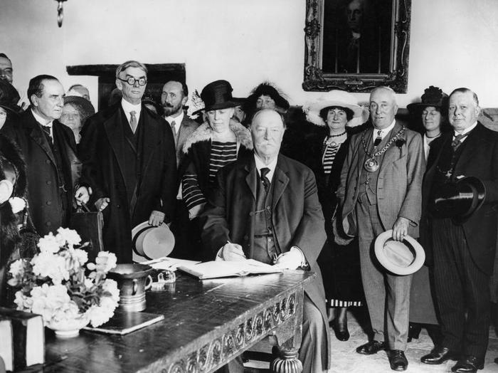 11. William Howard Taft là người duy nhất giữ cả 2 chức vụ: Tổng thống và Chánh án Mỹ.Ảnh: Thư viện Quốc hội Mỹ