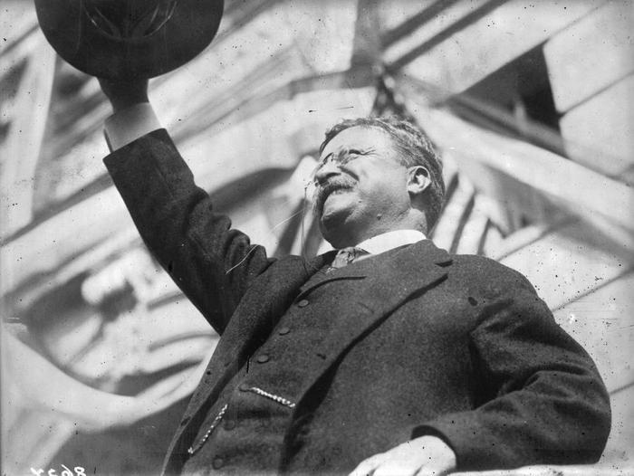 3. Theodore Roosevelt là người đầu tiên có chuyến công tác tại nước ngoài khi đương nhiệm vào ngày 14/12/1906 khi ông đến thăm Panama. Ảnh:Topical Press Agency/Getty