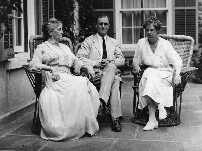 9. Franklin D.Roosevelt là Tổng thống Mỹ đầu tiên được chính mẹ của mình bỏ phiếu bầu. Ảnh:Hulton Archive/Getty Images