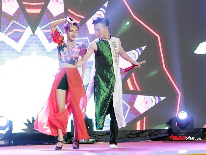 Phạm Chi Phương hóa thân thành nữ ca sĩ Bích Phương trong ca khúc hit Bùa yêu đình đám