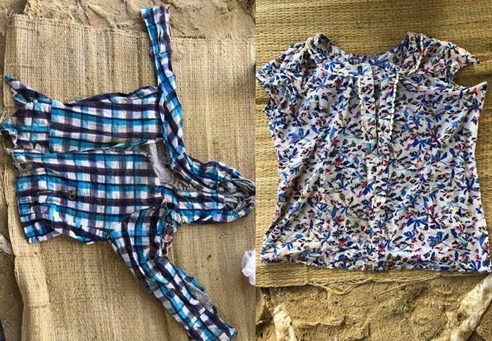 Áo quần của nạn nhân.
