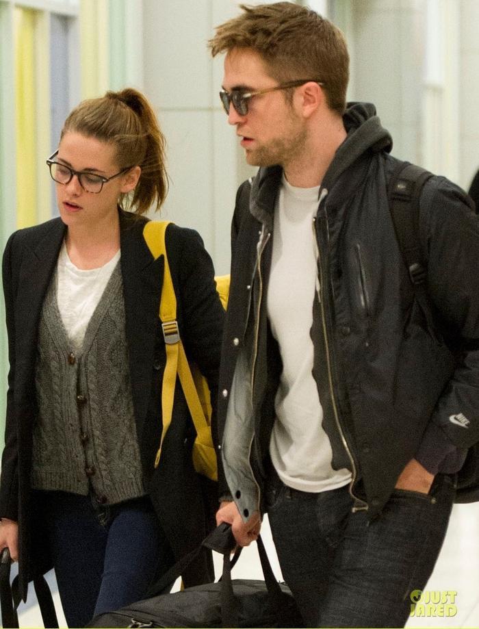 Cặp đôi Kristen Stewart và Robert Pattinson khi còn hạnh phúc