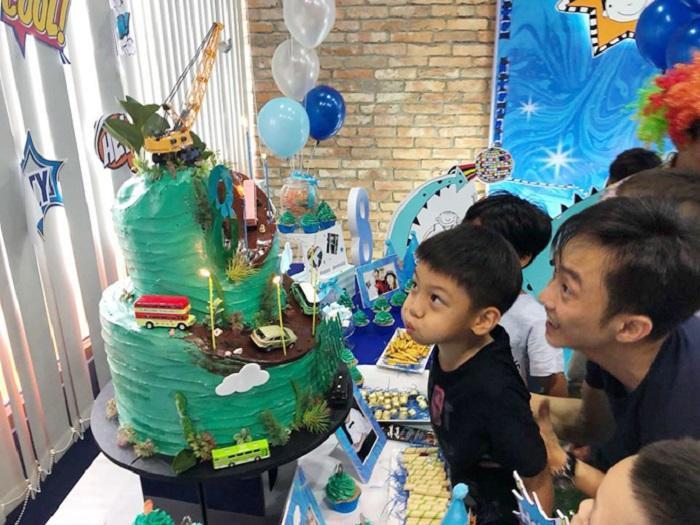 Vừa qua, Cường Đô La cũng tổ chức sinh nhật cho con trai.
