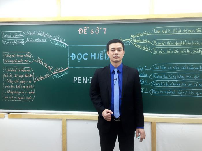 Với kinh nghiệm dạy Văn của mình, thầy Phạm Hữu Cường rất tâm đắc với đề thi môn Văn năm nay