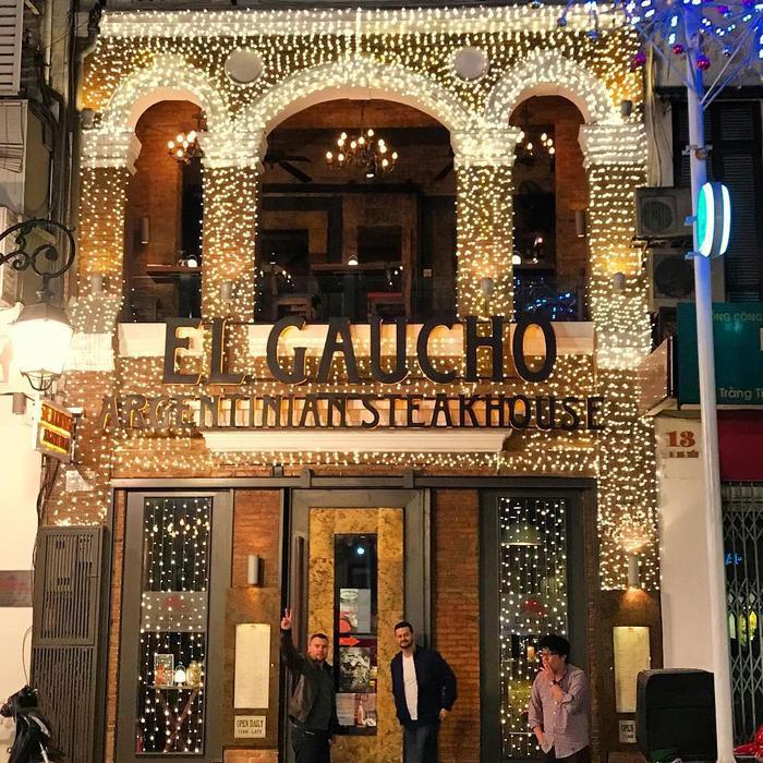 El Gaucho Steakhouse với phong cách cực cool và sang trọng -Ảnh: Marisa