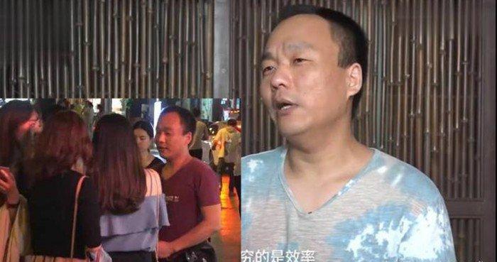 Dù rất tích cực, tuy nhiên anh Niu vẫn chưa tìm được vợ. Ảnh: Pear video