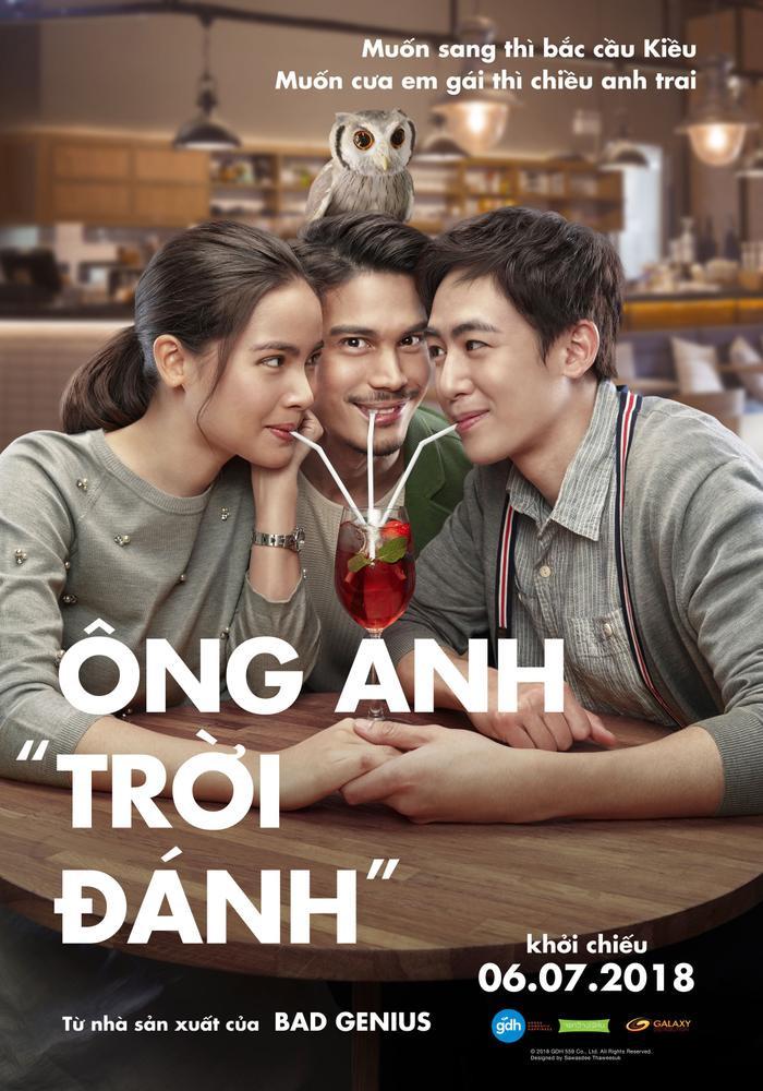 """Ông anh """"trời đánh"""" đã vượt qua kỷ lục của Thiên tài bất hảo và trở thành bộ phim điện ảnh nội địa của Thái Lan thành công nhất năm nay tính đến thời điểm hiện tại."""