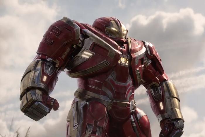 Trang phục của Hulkbuster khá ổn và bắt mắt