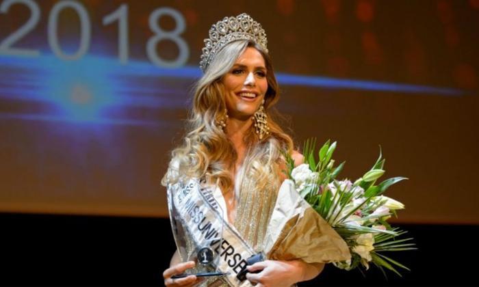 Angela Ponce đăng quang Hoa hậu Hoàn vũ Tây Ban Nha 2018 vào cuối tháng 6 vừa qua.