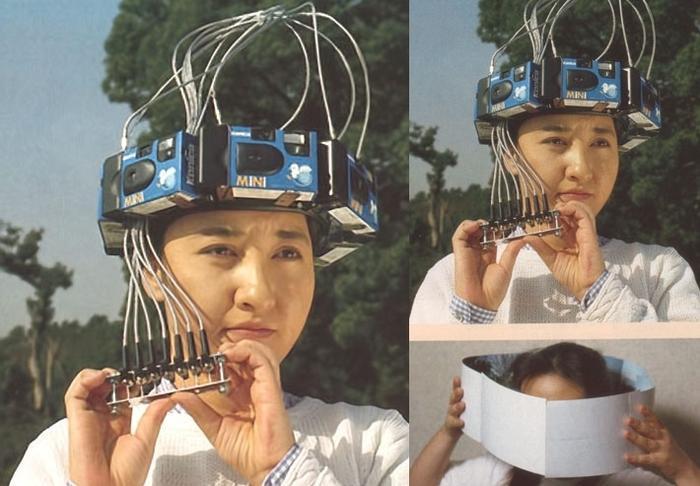 Hoá ra đây là cách người Nhật Bản chụp được những tấm hình 360 độ trước khi công nghệ phát triển đến mức giúp chúng ta có thể làm điều đó dễ dàng hơn.