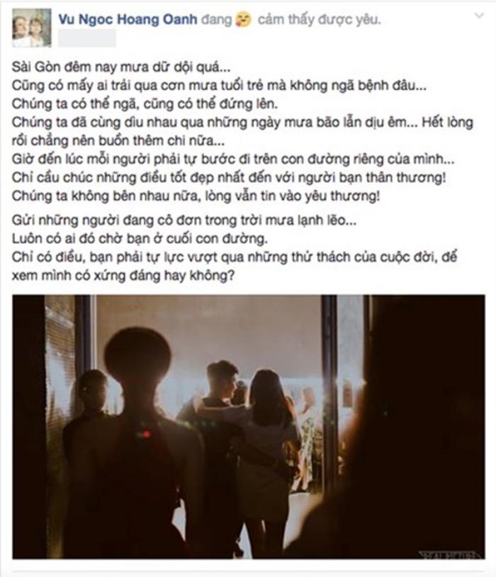 Sao Việt và cách hành xử khi chia tay: Con đường nào mở ra khi một mối quan hệ kết thúc?