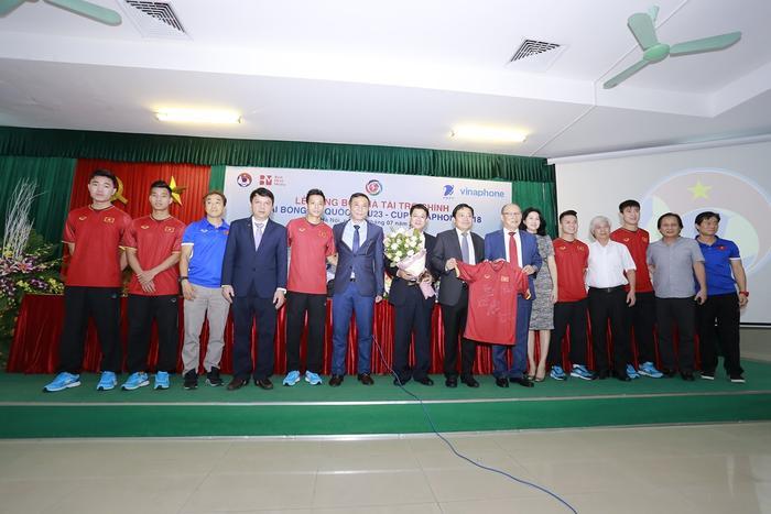 U23 Việt Nam sắp tranh tàigiải quốc tế U23 - Vinaphone Cup 2018.