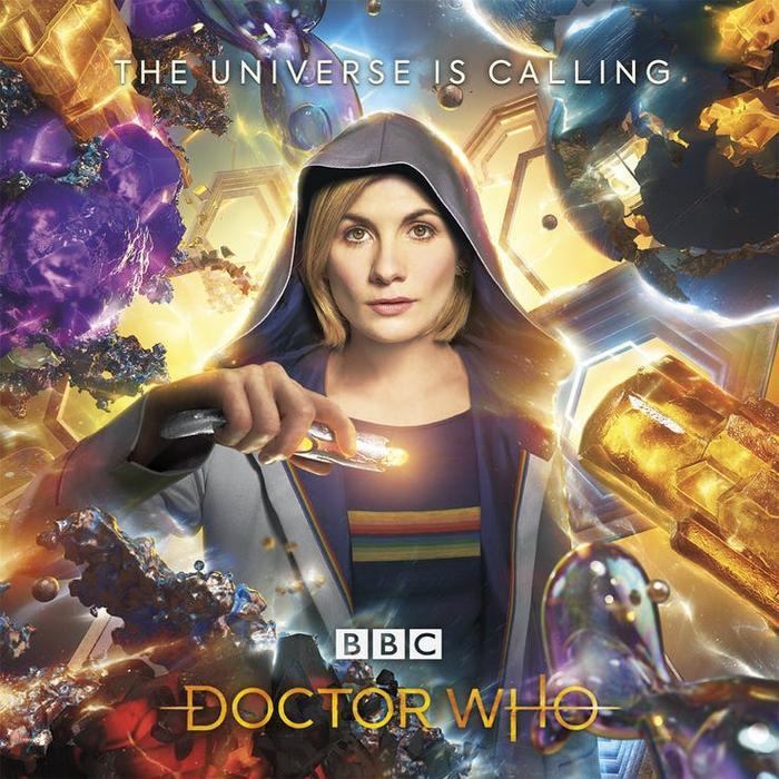 """Poster chính thức của """"Doctor Who"""" mùa mười một."""