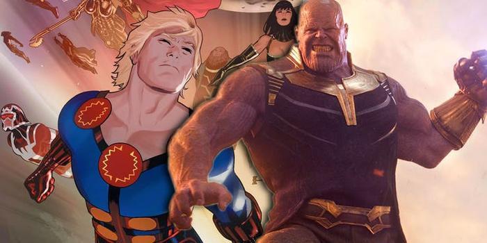 Tại sao Eternals lại không xuất hiện từ Infinity War hay Endgame? ảnh 3